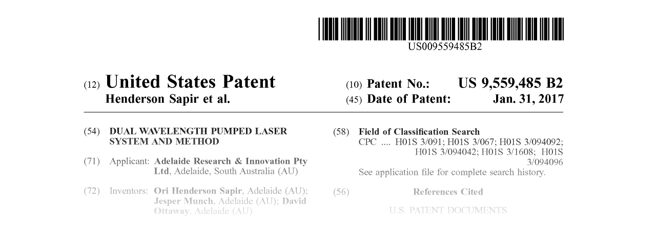 United States Patent US9,559,485